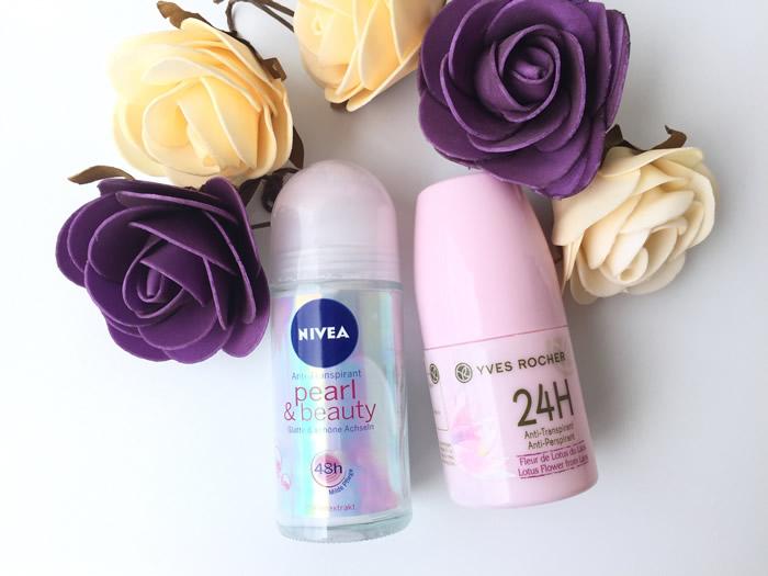 Nivea ve Yves Rocher deodorant