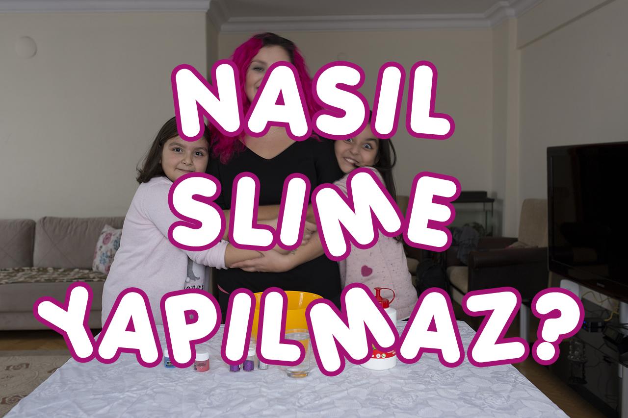 Yeğenlerimle Eğlenceli Bir Video – Nasıl Slime Yapılmaz